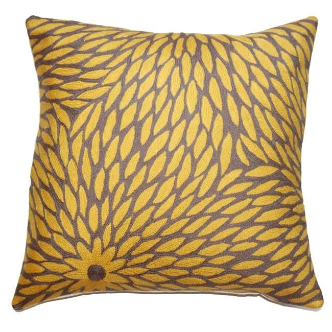 Zinnia Decorative Pillow
