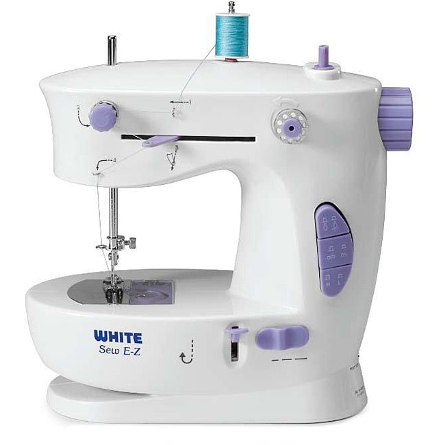White Sew E-Z Mini Portable Sewing Machine