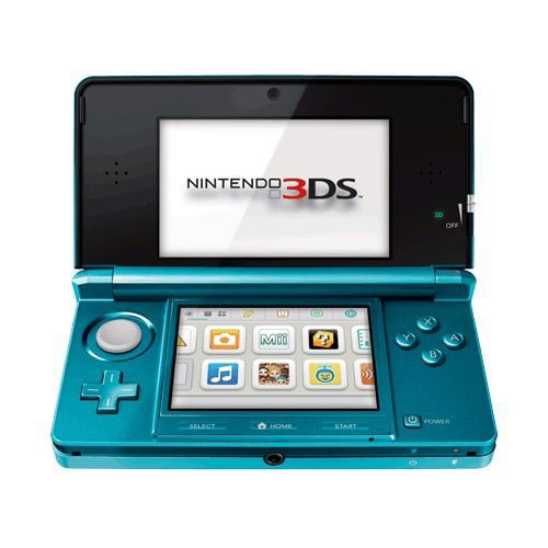 NinDS 3DS - 3DS Aqua Blue