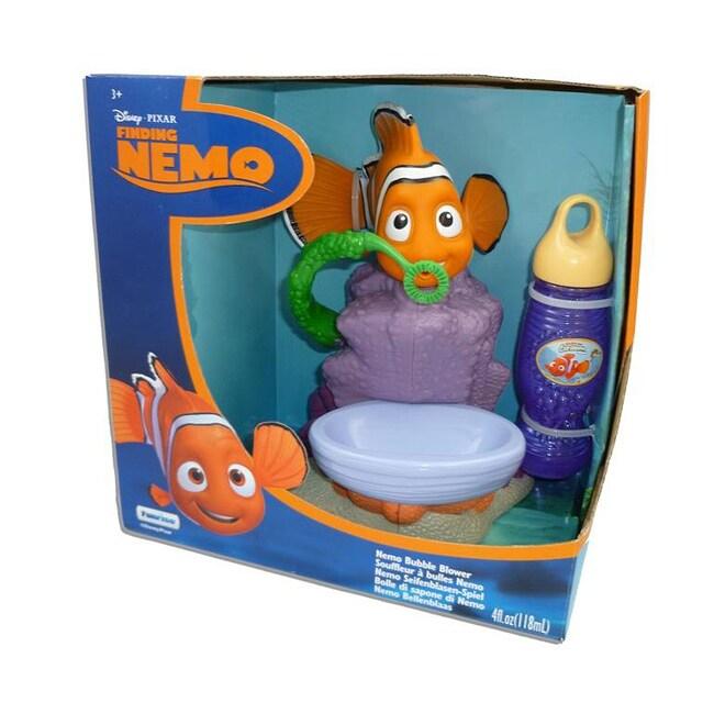 Gazillion Bubble Fun Bath Time Motorised Machine Nemo Bubble Blower