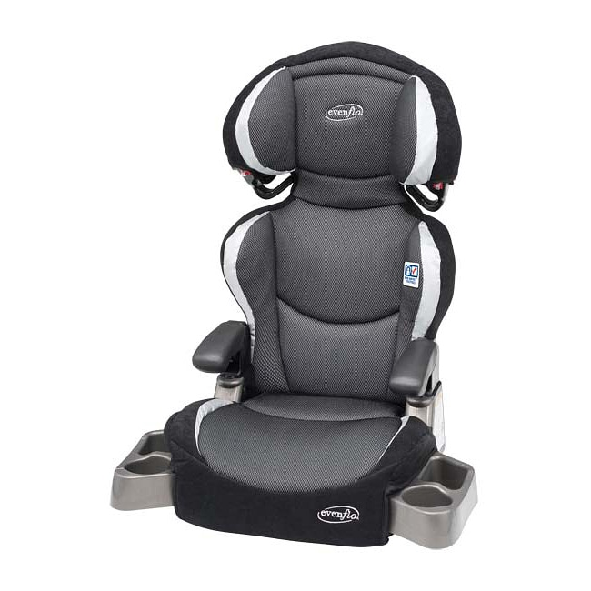 evenflo big kid dlx booster car seat in eclipse 13417584. Black Bedroom Furniture Sets. Home Design Ideas