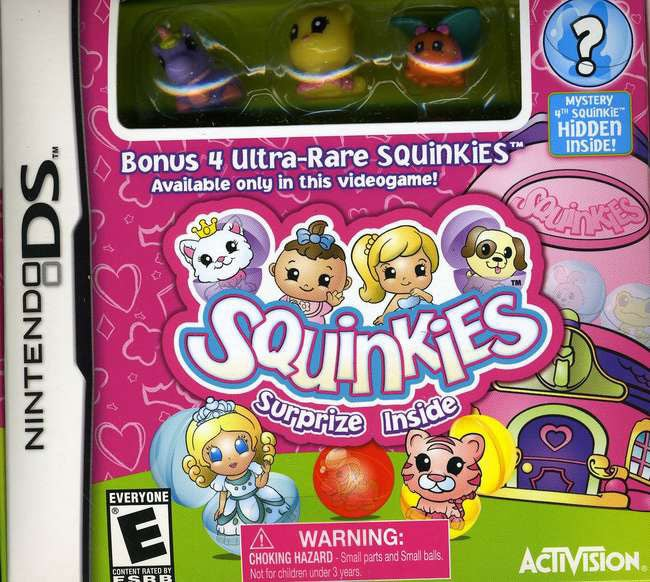 NinDS - Squinkies with Gift - By Activision Inc