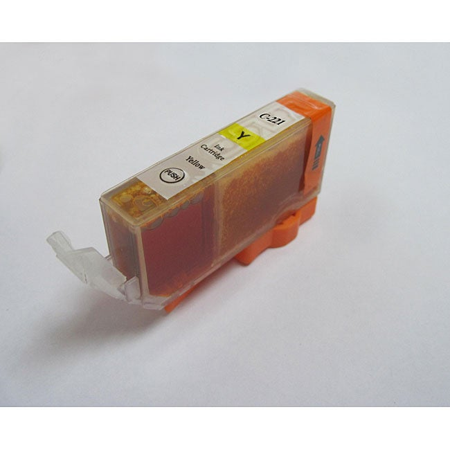 Canon Compatible CLI-221Y Yellow Ink Cartridge