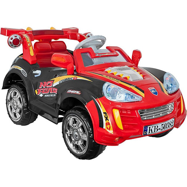 Lil' Rider Battery Powered Sports Car w/ Remote