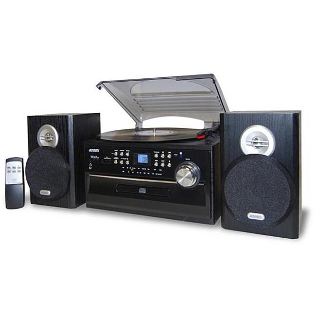 Jensen 3-speed Turntable/ CD/ Cassette/ AM/FM Stereo