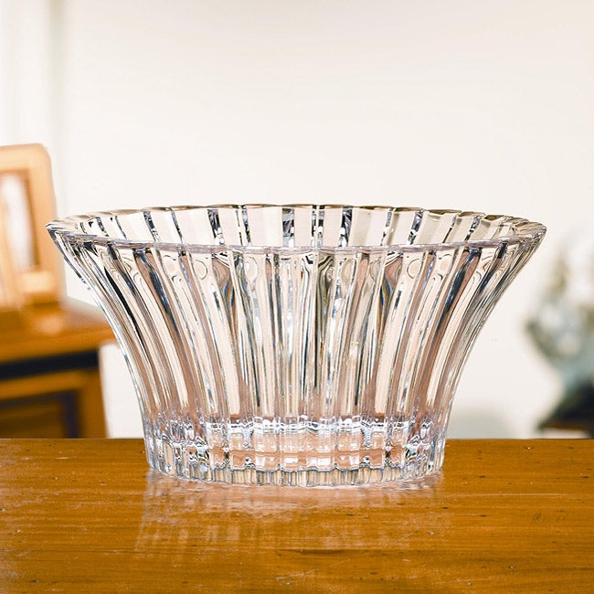 Crystal Clear Alexandria 9-inch Round Bowl