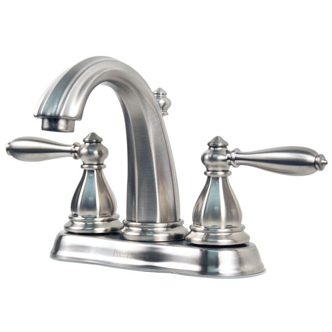 Price Pfister GT48 RP0K Portola Satin Nickel Centerset Bathroom Faucet