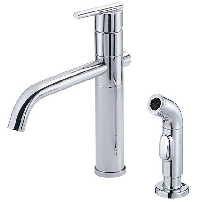Parma Chrome Kitchen Faucet with Side Spray