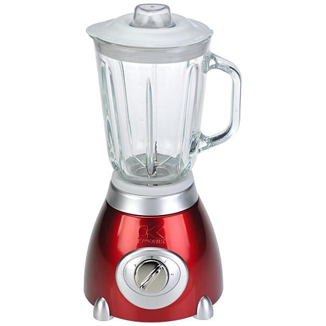 Kalorik Metallic Red 48-ounce 500-Watt Blender
