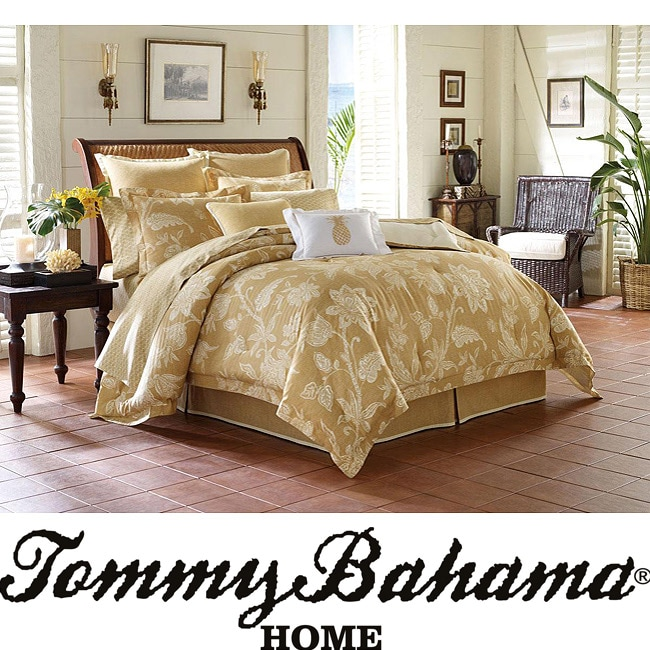 tommy bahama bali king size 4 piece comforter set 13429770 shopping great. Black Bedroom Furniture Sets. Home Design Ideas