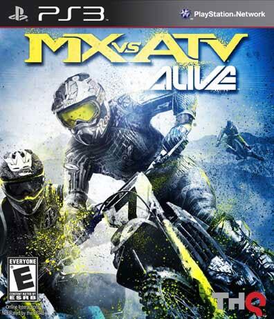 PS3 - MX vs ATV Alive - By THQ