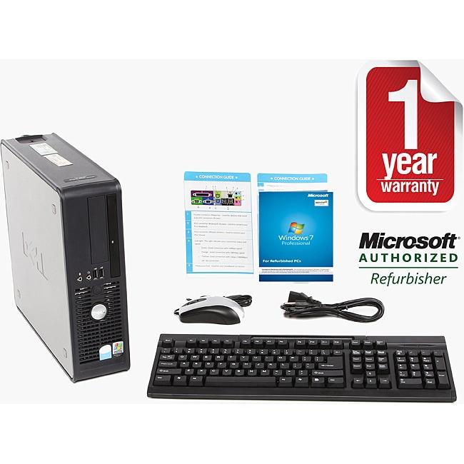 Dell Optiplex 740 2GHz 500GB Windows 7 Desktop Computer (Refurbished)