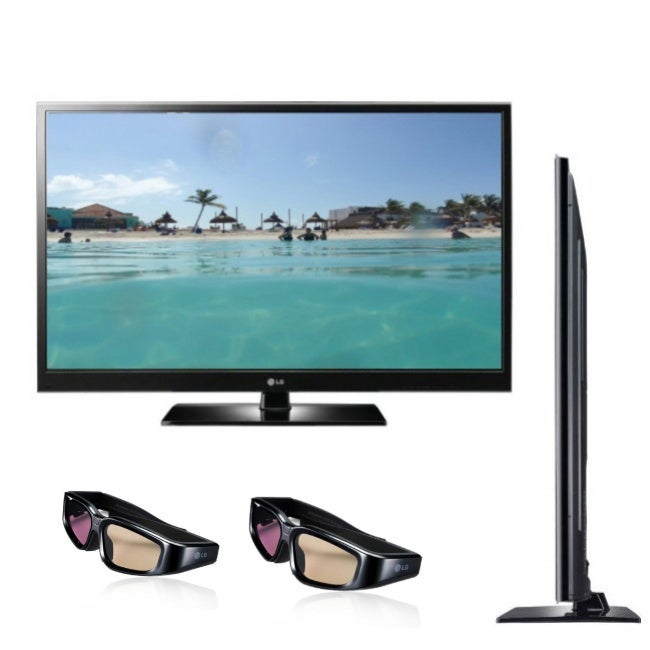 LG 50PZ550 50-inch 1080p 3D Plasma TV