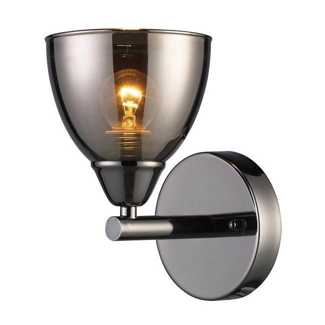 Chrome Garden Wall Lights : Black Chrome 1-light Wall Sconce - 13451920 - Overstock.com Shopping - Top Rated ELK LIGHTING ...