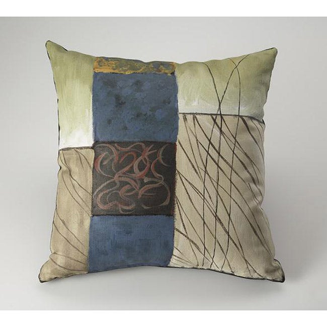Fusion Wind Hand-painted Decorative Pillow