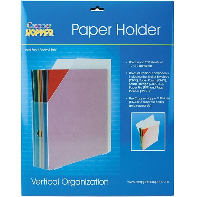 Cropper Hopper Vertical Paper Holder