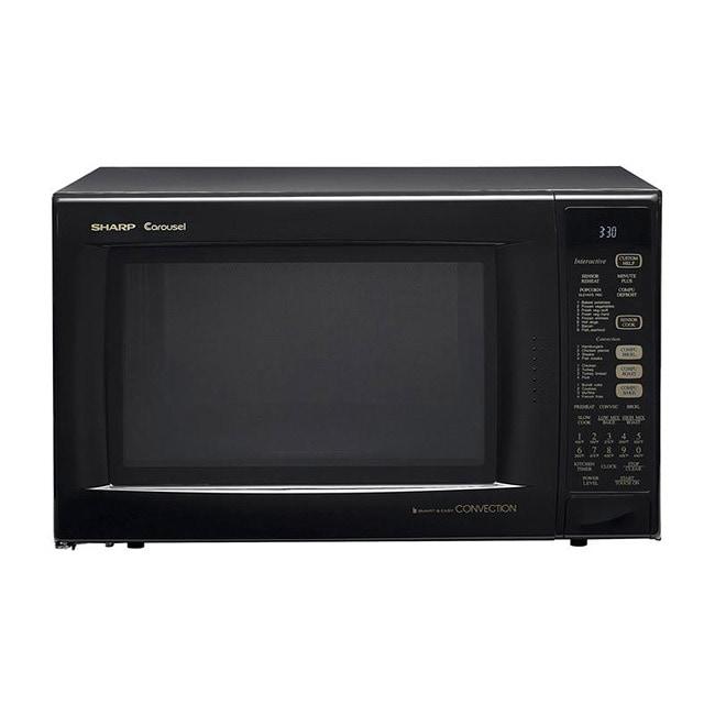 Sharp R930AK Black 1.5-cu-ft 900-watt Convection Microwave