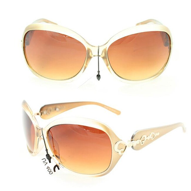 Women's 1119 Gold Two-tone Fashion Sunglasses