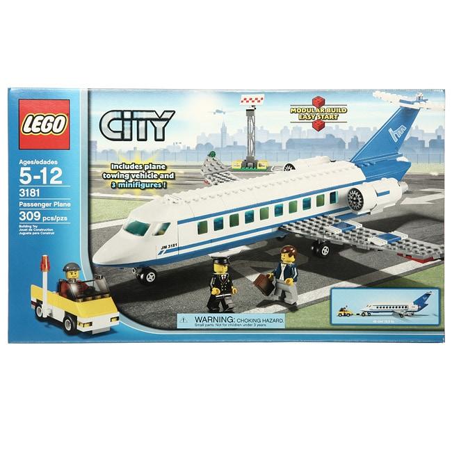 LEGO 3181 Passenger Plane Toy Set