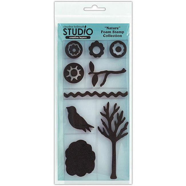 Claudine Hellmuth Creative Layers Nature Foam Stamps