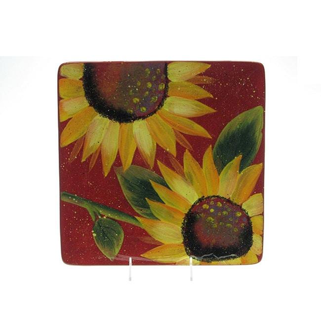 Certified International Sun Blossom 12.5-in Platter