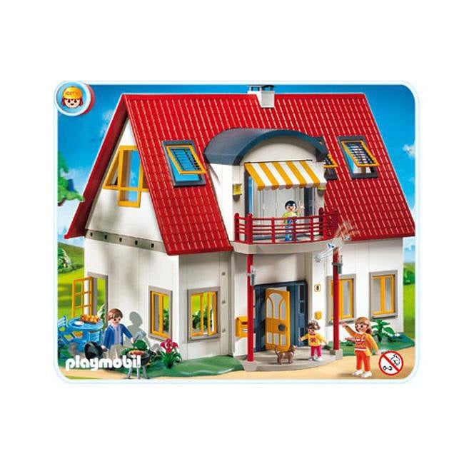 Playmobil Suburban House Play Set