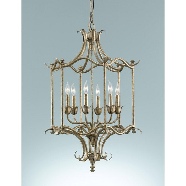 Hummingbird Six Light Cage Chandelier Free Shipping Today