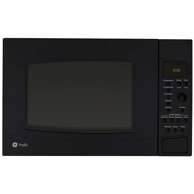GE Profile PEB1590DMBB Black 1.5-cu-ft Countertop Microwave Oven at Sears.com