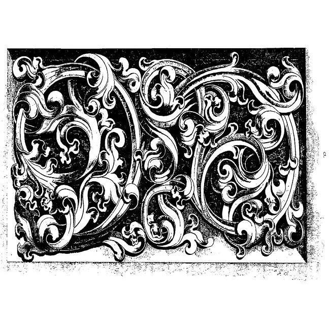 LaBlanche Intricate Swirl Silicone Stamp