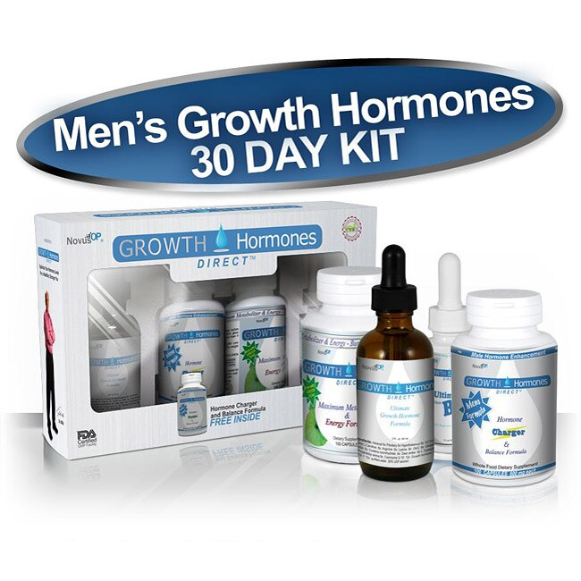 HGH Male Growth Hormones Supplement 30-day Kit