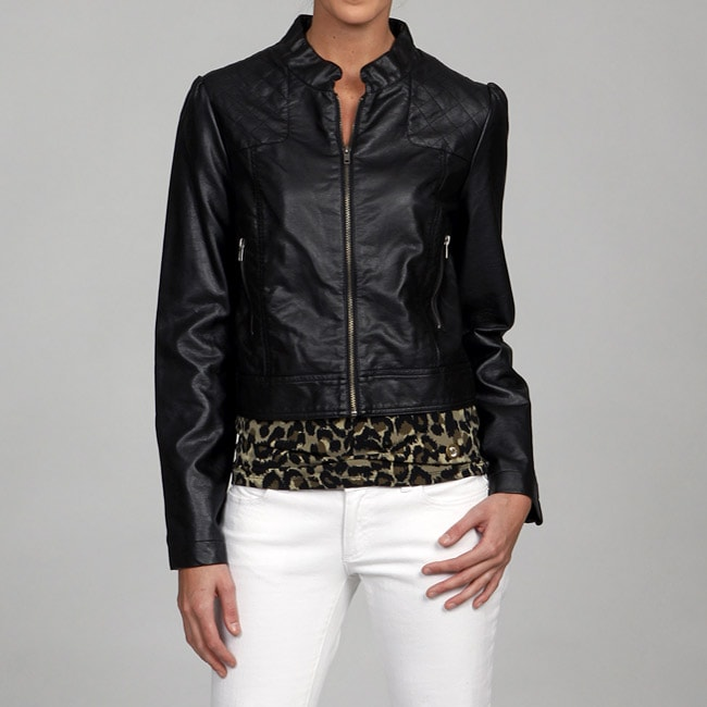 Black Rivet Women's Zip Front Jacket FINAL SALE