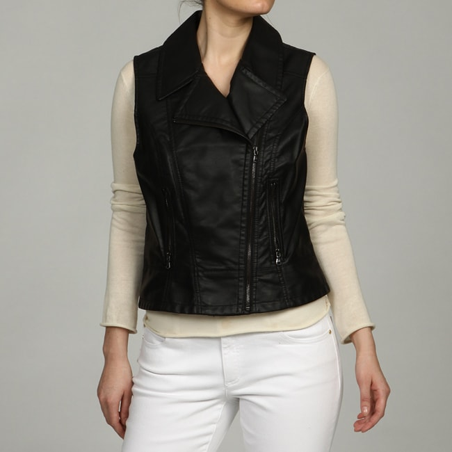 Kenneth Cole Women's Zip Front Vest FINAL SALE