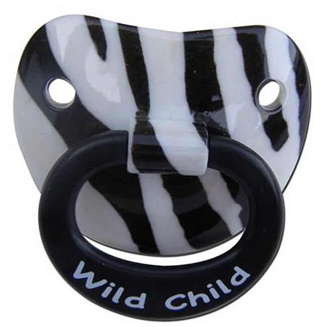 Wild Child Zebra Pacifier
