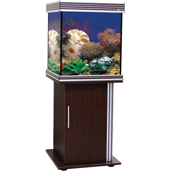 Empress Cube 45-gallon Aquarium and Stand