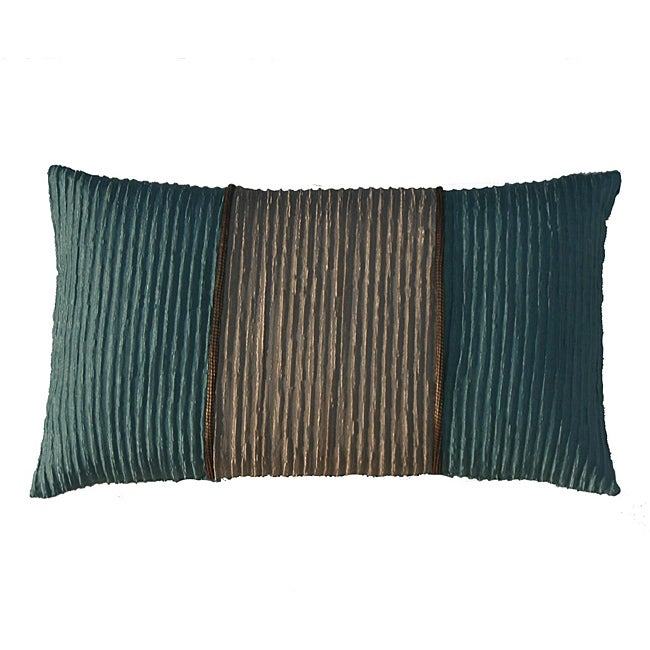 Jiti Bombay Monaco Aqua/ Beige Decorative Pillow