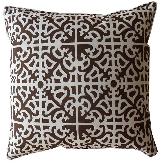 Outdoor Brown Malibu Decorative Pillow