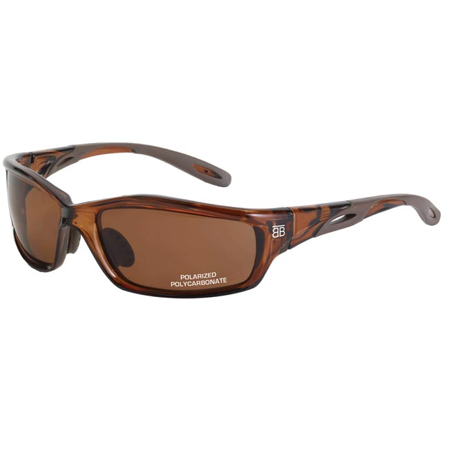 Crystal Brown BTB-200P Polarized Sunglasses