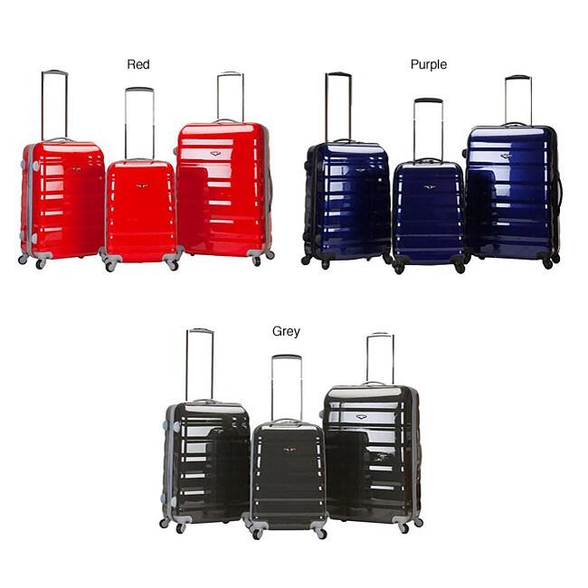 Rockland Atlantis 3-piece Hardside Spinner Luggage Set