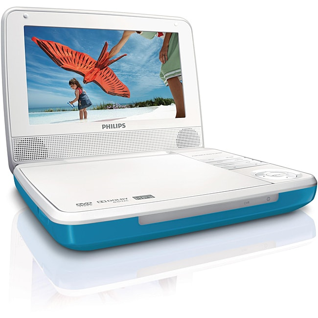 Philips PET741T 7-inch Portable DVD Player (Refurbished)