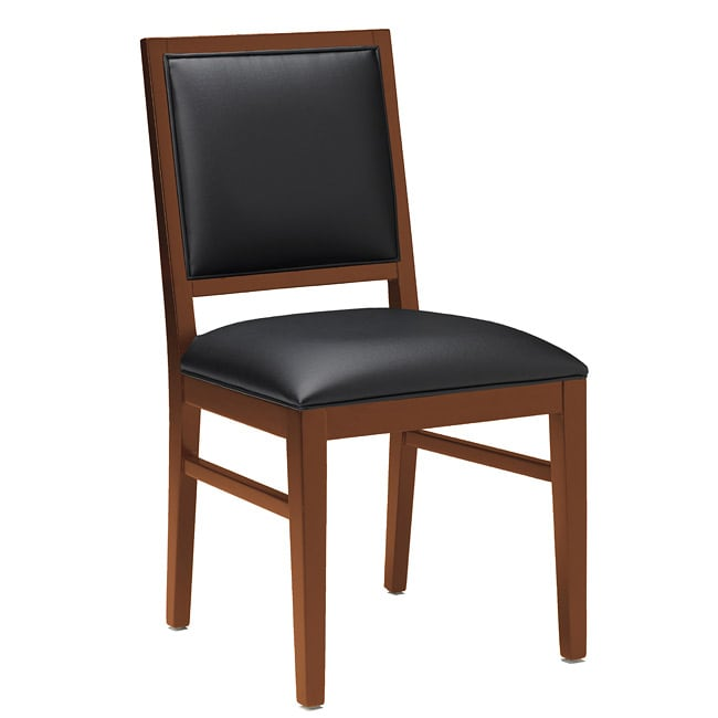 Mayline Bistro Solid Flat Back Chairs (Pack of 2)