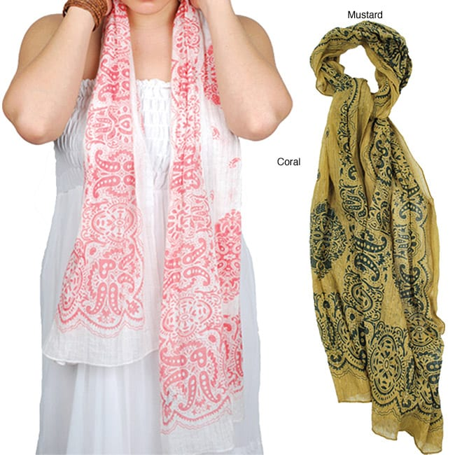 Paisely Summer Scarf (India)