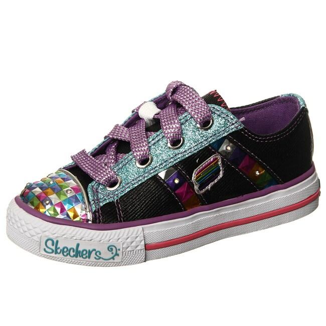skechers girl 39 s 39 electrix 39 light up shoes 13580537 overstock. Black Bedroom Furniture Sets. Home Design Ideas