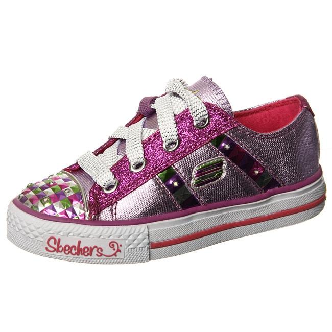 skechers girl 39 s 39 electrix 39 pink light up shoes 13580538 overs. Black Bedroom Furniture Sets. Home Design Ideas