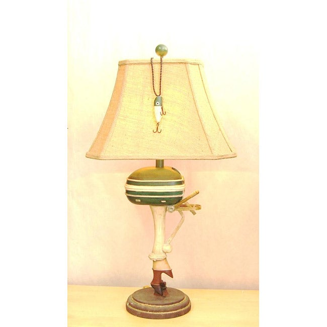 Green Outboard Motor Lamp