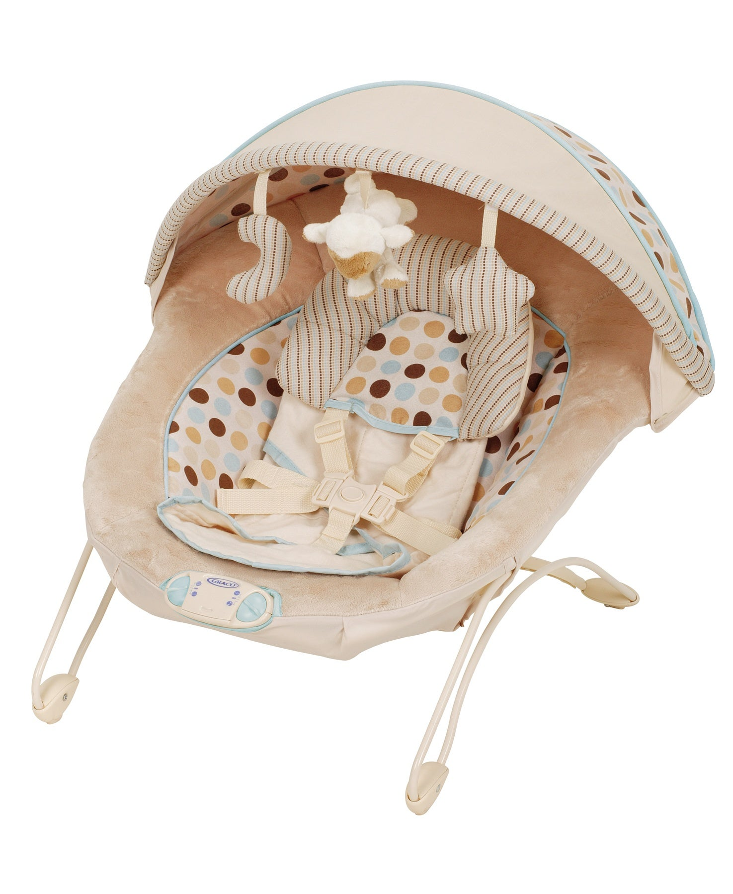 Graco Soothe and Swaddle Bouncer in Deco