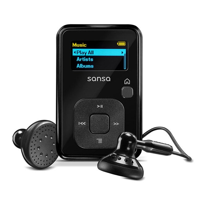 SanDisk Sansa Clip Plus 8GB MP3 Player (Refurbished)
