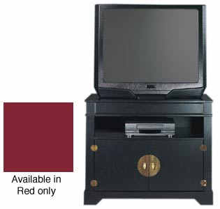 Wuchow Red TV Stand with Cabinet