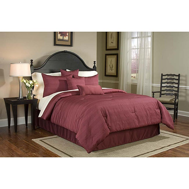 Buckley King-size 8-piece Bed in a Bag with Sheet Set