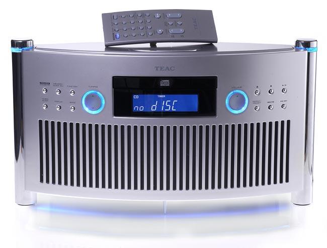 Микро cd-ресивер с возможностью подключения ipod док-станции