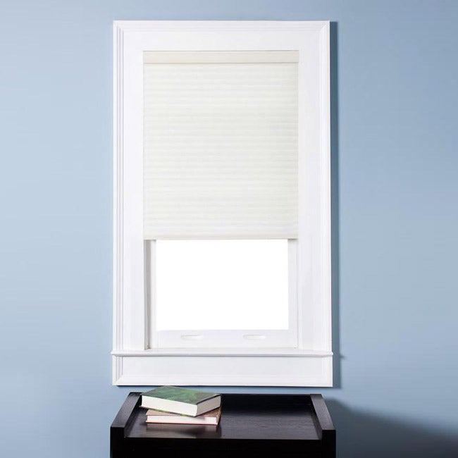 Honeycomb Cell Light-filtering Cream Cordless Cellular Shades (34.5 x 72)